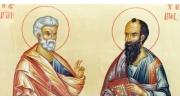 La Mulţi Ani şi fie ca Sfânţii Petru şi Pavel să vă călăuzească mereu!